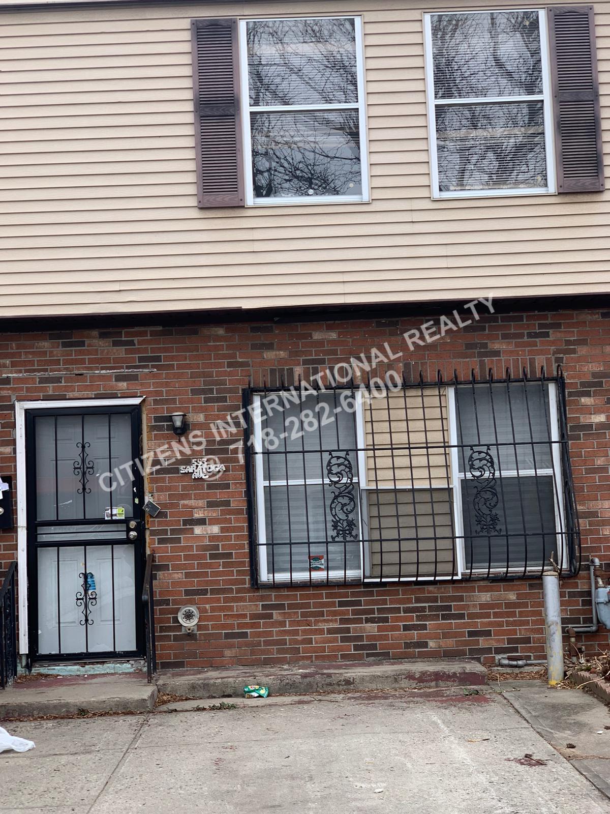 Single Family in East New York - Saratoga  Brooklyn, NY 11212
